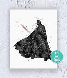 Darth Vader Poster Star Wars Print Darth Vader by AllArtPrints