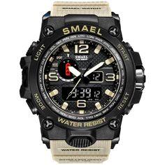 Military Watch 50m Waterproof Wristwatch //Price: $20.40 & FREE Shipping // #jewelry #styles #eyes