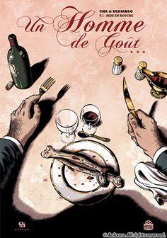 CHA - Un Homme de goût, bon appétit - http://www.ligneclaire.info/cha-el-diablo-18573.html