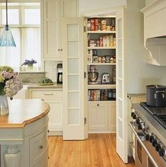 Walk In Pantry Design Ideas its all about the shelving system Petite Cuisine Avec Garde Manger Walk In Recherche Google Kitchen Pantry