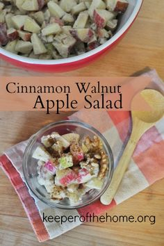 Cinnamon Apple Salad Recipe: A Perfect Holiday Sidedish