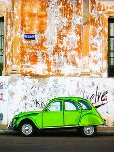 Green Car - Argentina by BellaKentuky
