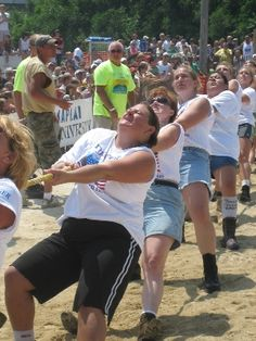 Tugfest is the world's only tug-of-war across the Mississippi River between LeClaire, IA and Port Byron, IL. Annually second weekend in August.