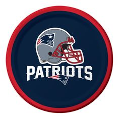 New England Patriots Dessert Plates 7