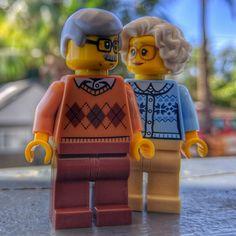 """Grandparents"" Lego Photography, Various Artists, Grandparents, Grandmothers"