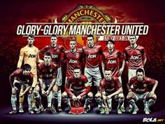 Manchester United Squad Team 2013-2014 Wallpaper HD