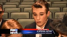 Autistic teen steals the show <3