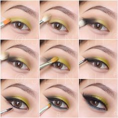 @Joycelyn LeDoux Linh pictorial - using the urbandecay Electric Palette