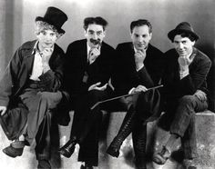 "Marx Brothers~Classic comedians  Manfred (1/1886-7/17/1886~6 months  ""Chico"" Leonard (3/22/1887-10/11/1961)  ""Harpo"" Adolph-(aka Arthur) (11/23/1888-9/28/1964)  ""Groucho"" Julius Henry-(10/2/1890-8/19/1977)  ""Gummo"" Milton- (10/23/1892-4/21/1977)  ""Zeppo"" Herbert-(2/25/1901-11/30/1979)"