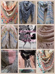 Vrolijke sjaals