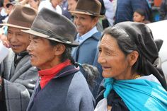 Indigenous people, Otavalo - Ecuador  Ecuador's population is ethnically mixed. 65% mestizo (mixed indigenous - White), 25% Indigenous, 7% white, African and others, and 3% Black.      Photograph: Aurore de Souza