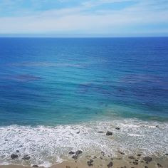 """""""Either you decide to stay in the shallow end of the pool or you go out in the ocean.""""  in #Malibu."""