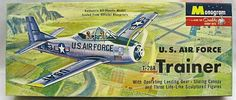 Monogram 1/48 T-28A Trainer USAF - Four Star Issue, PA28-98 plastic model kit