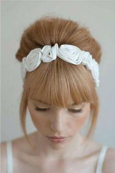 Idee acconciature da sposa per capelli medi (Foto 40/41) | PourFemme