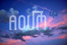 Aoum by Fontana Type Foundry on Creative Market