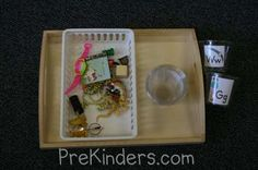 Alphabet letter sound awareness activities from PreKinders, I love all these ideas!  Especially the sound cups!  :)