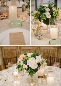 Pink and white wedding ideas table centrepieces | Florals by Beehive Events
