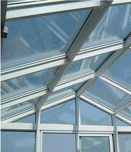 Aluminum profile extrusions for atrium and enclosures