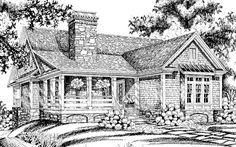 Cottage style home with 3 bedrooms.