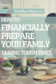 With the coronavirus and fallout from it, many families are understandably stressed out. Today we're sharing how you can financially prepare your family for tough times to survive and thrive! #family #money