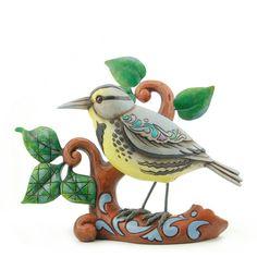 A Warbling Wonder-Meadowlark Figurine