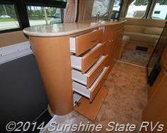 Though Class B motorhomes typically don't have much storage, this 2010 Pleasure-Way Plateau is sufficient for two.