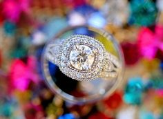 Krystle Akin Photography | Round vintage wedding ring