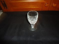 """Vintage 1970's Waterford Crystal Colleen Short Stem Sherry Glass.  4.25"""" Height. #WaterfordCrystal"""