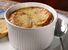 La soupe à l'oignon : une recette traditionnelle (French Onion Soup)