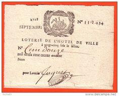 Vieux Papiers > Billets de Loterie - Delcampe.net