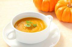 Sopa fresca de calabaza y naranja: ¡Depurativa e hidratante!