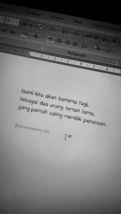 Quotes Rindu, Quotes From Novels, Text Quotes, Mood Quotes, Daily Quotes, Quran Quotes, Crush Quotes, Positive Vibes Quotes, Postive Quotes