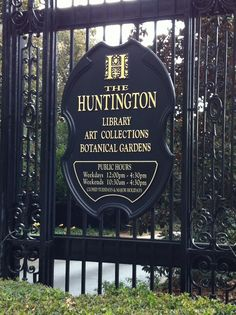 The Huntington Library - One of my favorite places in California.