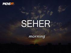 Word of the day #seher #wordoftheday #definedatfive