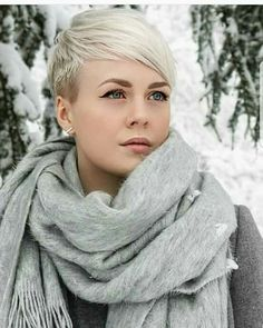 Edgy pixie haircuts all faces - Josee Blanchet Pixie Undercut, Edgy Pixie Haircuts, Pixie Hairstyles, Braid Hairstyles, Girl Short Hair, Short Hair Cuts, Short Hair Styles, Pixie Cuts, Latest Short Hairstyles