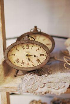 Vintage Clocks ~ Paris, ca. 1860