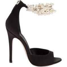 bf29b0d7079 GIAMBATTISTA VALLI embellished ankle sandal ( 1