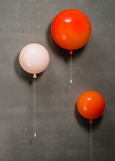 Wall lights can transform the look and feel of a room, creating unique lighting opportunities. Browse modern, vintage and art-deco indoor wall lights here. Kids Lighting, Unique Lighting, Home Lighting, Lighting Design, Balloon Wall, Balloons, Contemporary Wall Lights, Deco Luminaire, Candle Lamp