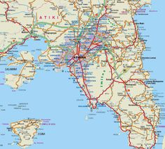 Attiki Map