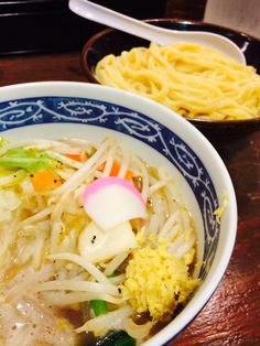 Vegetable Tsukemen. タンつけ麺