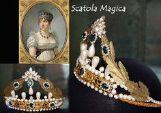 Diadema Stile Impero, by Scatola Magica