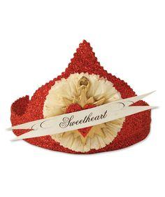 Sweetheart Crown | Valentine Heart Crown