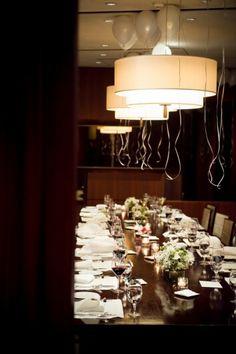 Reception dinner @ Parkview