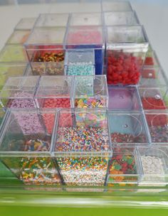 Sugar Management! Keep your sprinkles pretty and organized by Moments of Delight...Anne Reeves