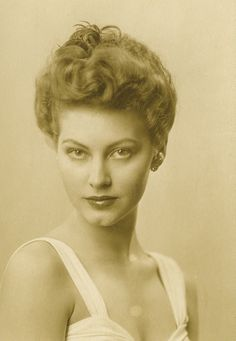 Ava Gardner...wow, she was a beautiful lady