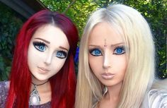 If you thought that the real-life Barbie doll and her equally doll-like family were strange, we think we may have just discovered the ultimate in bizarrely hyperbolic character imitation. Behold:...