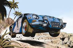 "Papazoglakis-Paquet-Bernard /// Alpine A110 ""Love the wheel angles"" KB"