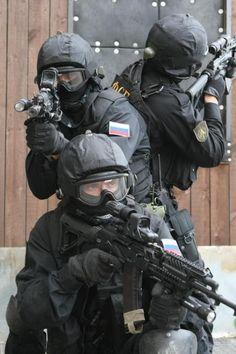 Russian Special Forces. Fuerzas Especiales Rusas