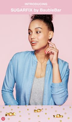 Nothing is as effortlessly chic as delicate, gold jewelry. If that's your style, you'll love the New Essentials collection for its modern take on classic pieces. Find all the must-have basics for any wardrobe, from necklaces to earrings to bracelets, in our newest (and sweetest!) jewelry collab, SUGARFIX by BaubleBar. Only at Target.