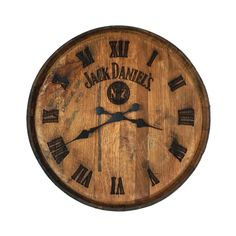 Jack Daniels Barrel, Jack Daniels Decor, Jack Daniel's Tennessee Whiskey, Islands In The Pacific, Yard Furniture, Backyard Bar, Cottage Living, White Oak, Decoration